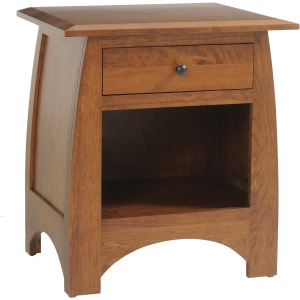 Nightstand with 1 Drawer 26