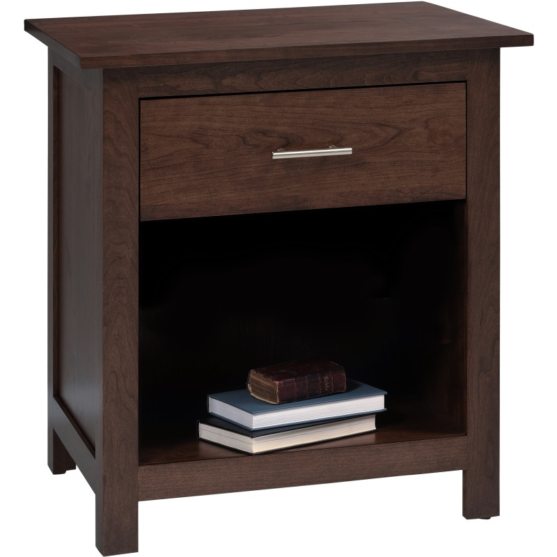Nightstand 1 Drawer 26 By Millcraft Furniture Mall Of Kansas