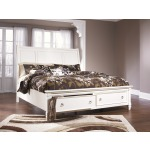 Prentice King Sleigh Bed with Storage