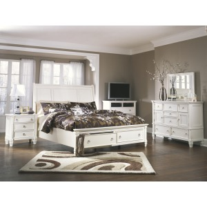 Prentice 4 PC Queen Bedroom Set