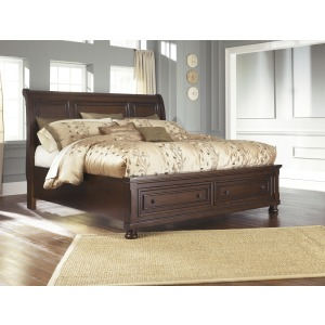 B697 King Sleigh Bed