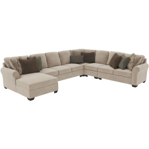Wilcot 5-Piece Sectional with Chaise