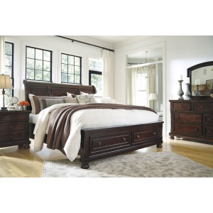 6 Piece Sleigh Bedroom- King