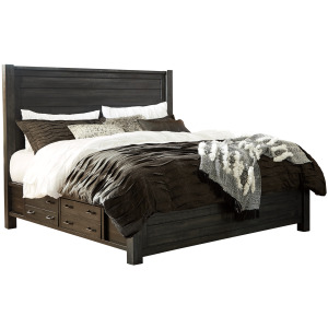 Baylow Queen Panel Bed with Storage