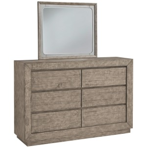 Langford Dresser and Mirror