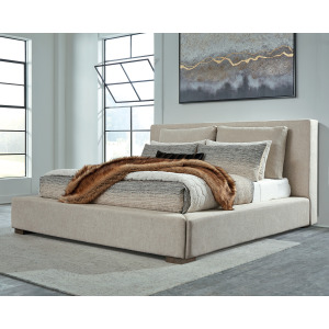 Langford King Upholstered Bed
