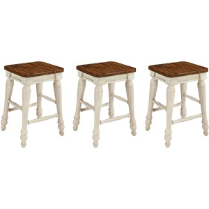 Marsilona Dining Room Counter Height Bar Stool (Set of 3)