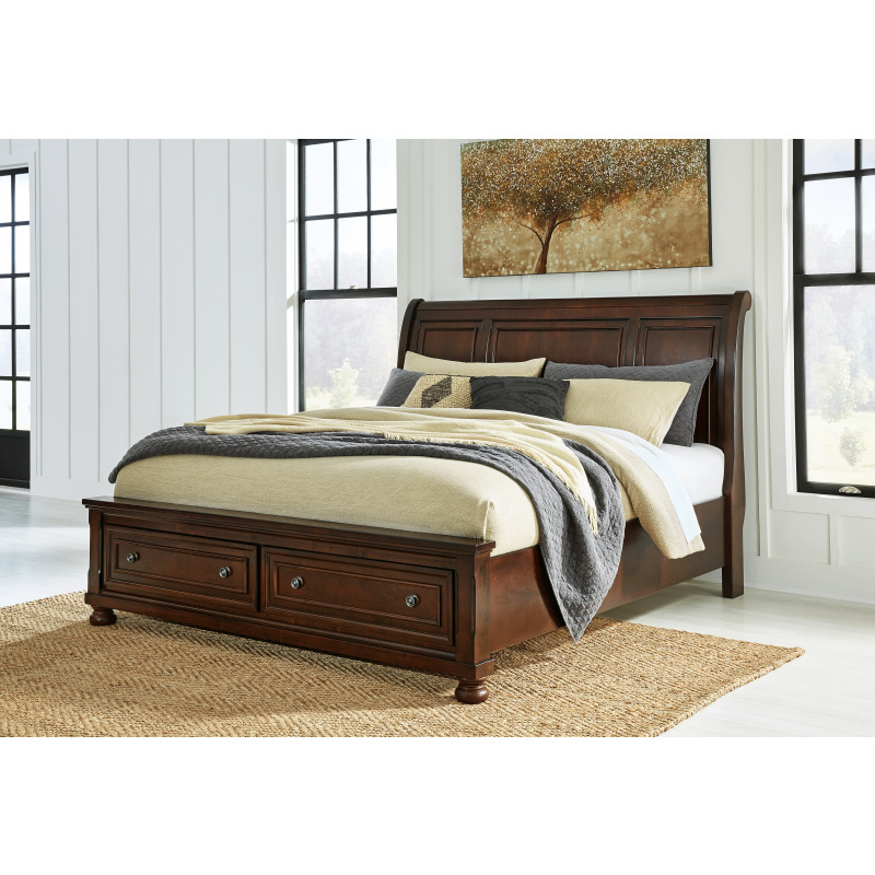 Porter California King Sleigh Bed