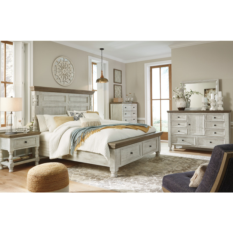 Millenium By Ashley: Havalance King Poster Bed With Storage By Millennium By