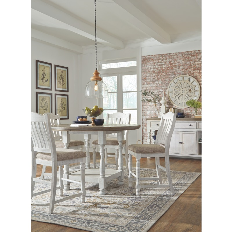 Havalance Counter Height Dining Room Table - D814-13 ...