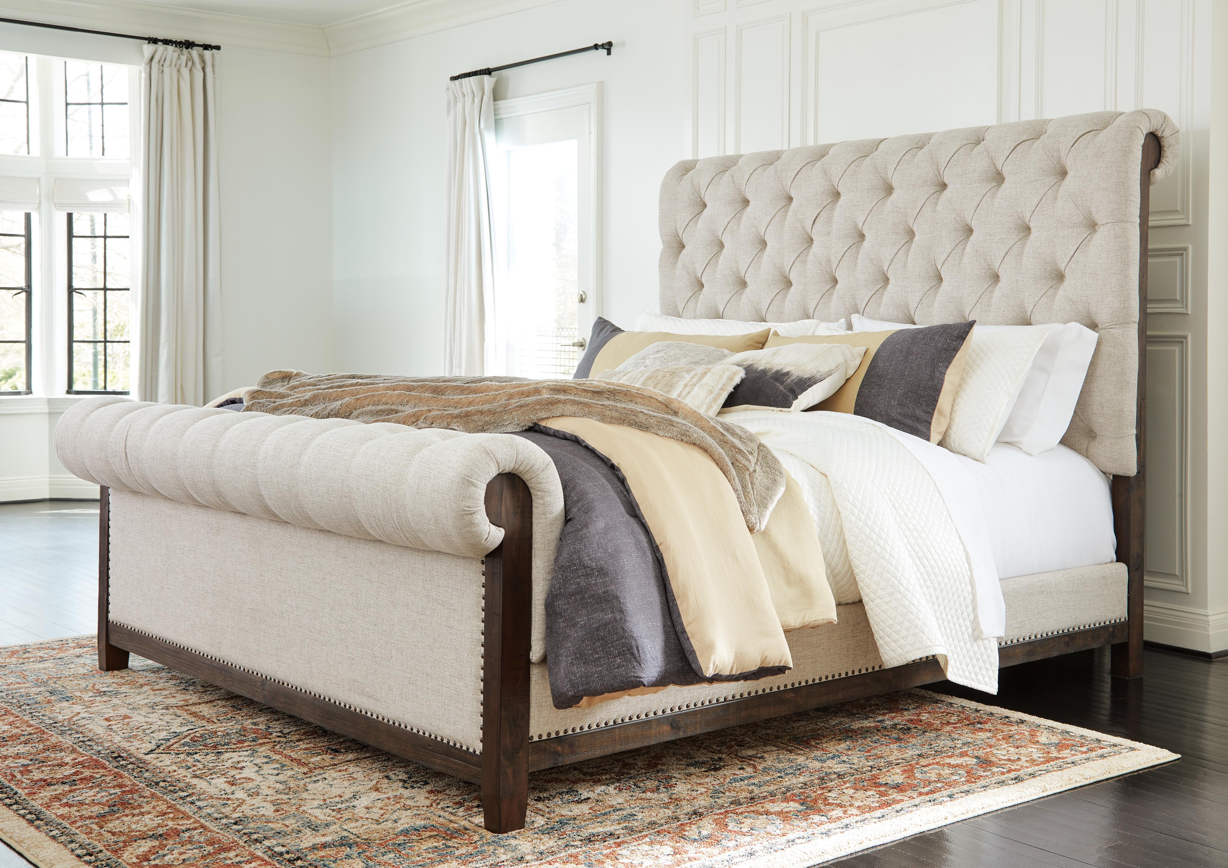 Hillcott Queen Upholstered Bed B798b2 Ashley Homestore