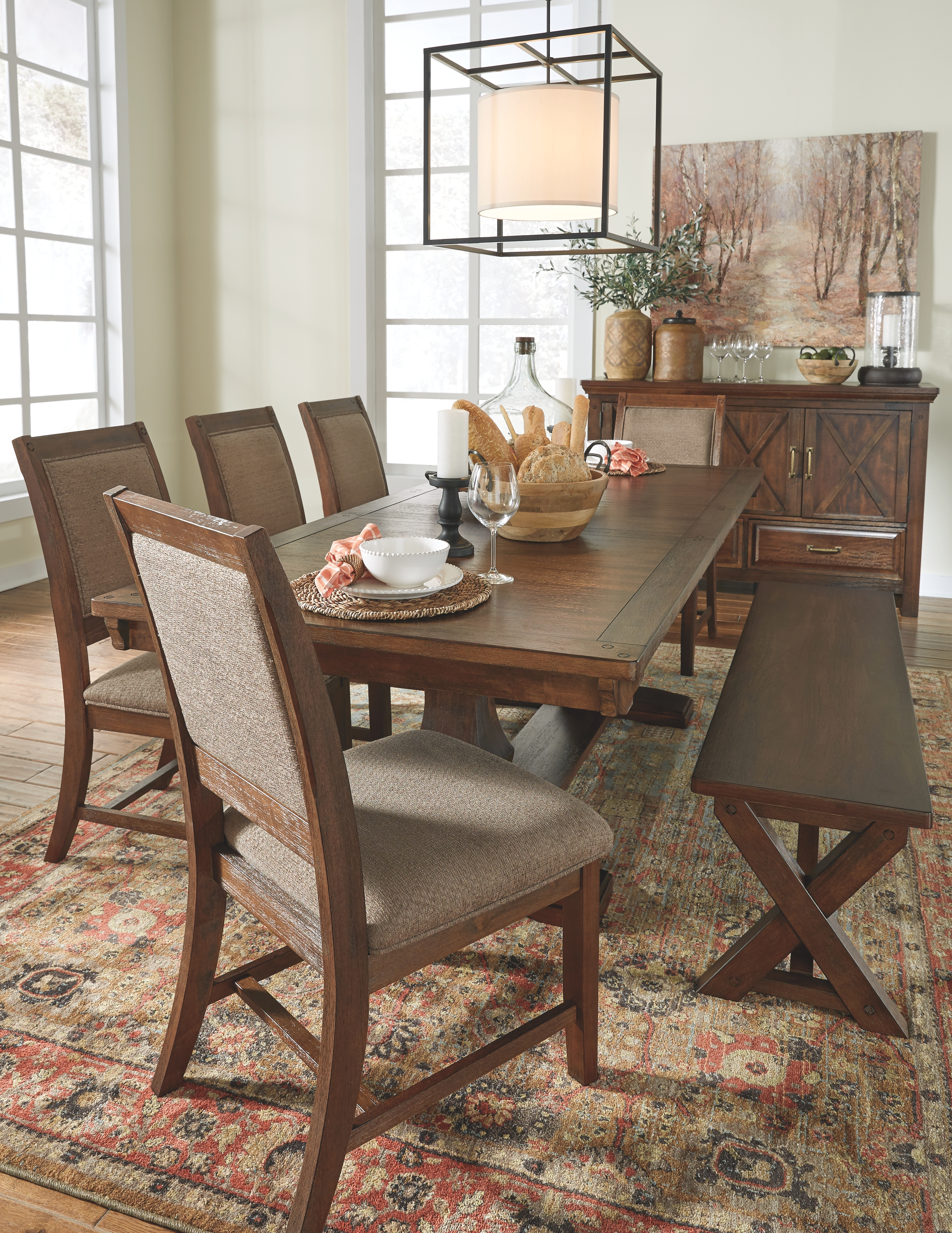 Windville Dining Room Chair By Millennium By Ashley Nis683571509 Missouri Furniture