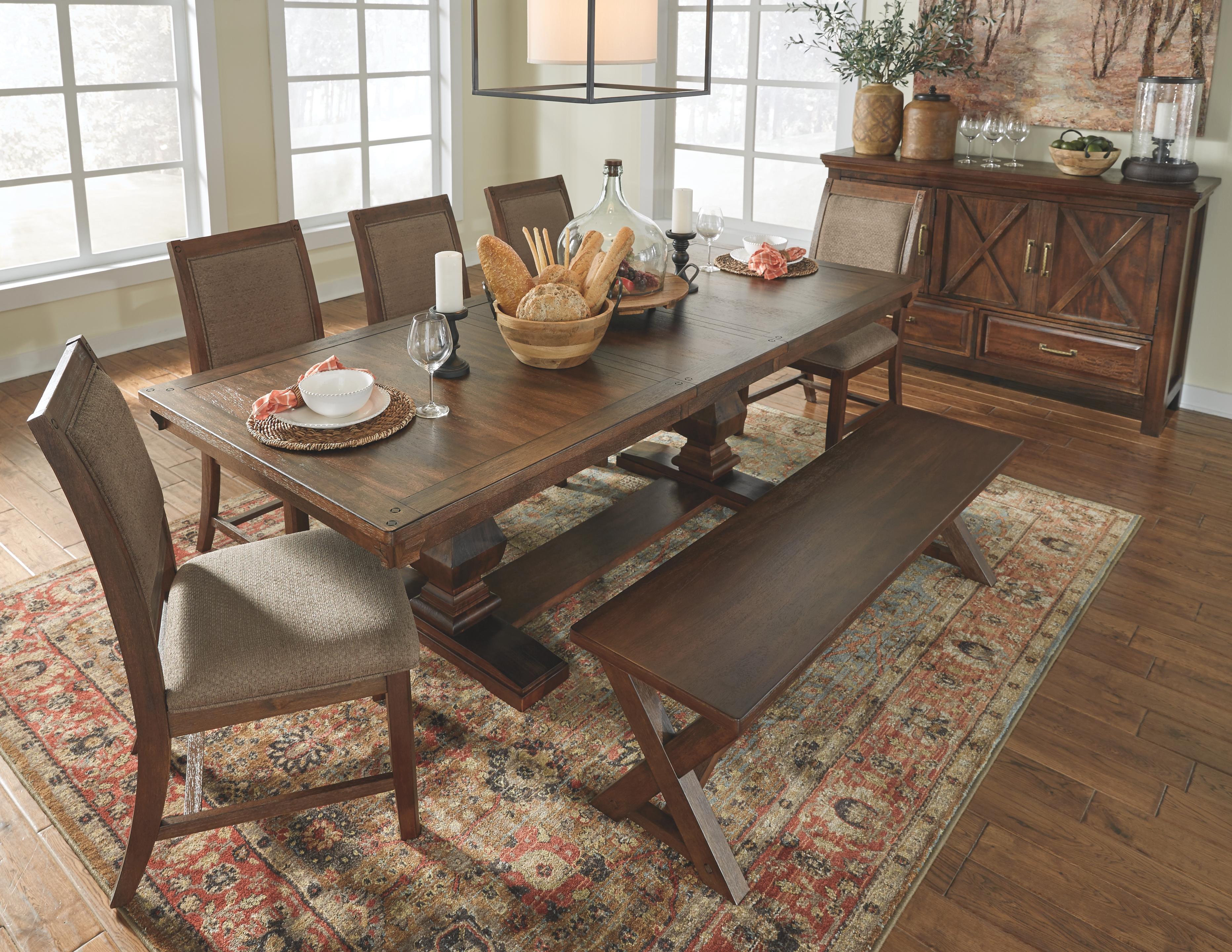 Windville Dining Room Table D662d4 By, Windville Dining Room Set