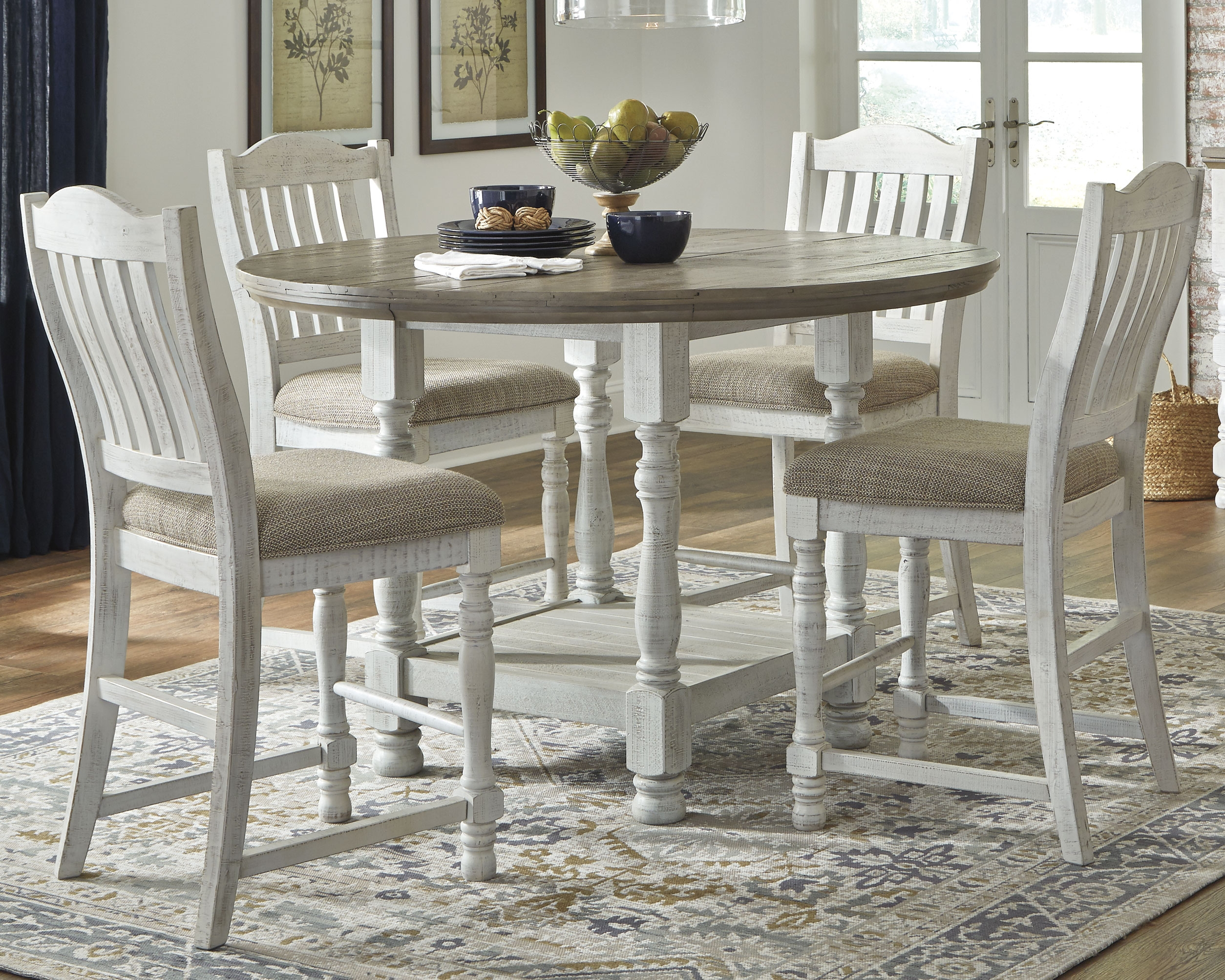 Havalance Counter Height Dining Room Table By Millennium By Ashley Nis568798353 Missouri Furniture