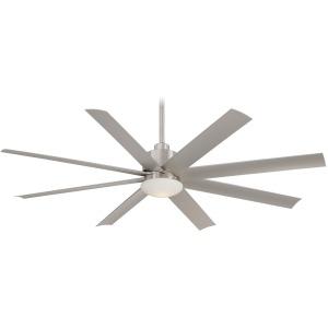 "Slipstream LED - 65"" Ceiling Fan - Brushed Nickel"