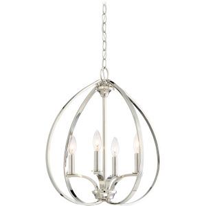 Tilbury - 4 Light Pendant