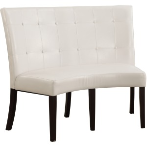 Synthetic Leather Banquette