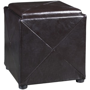 Milano Synthetic Leather Storage Cube