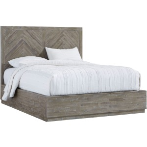 Herringbone Queen Storage Bed