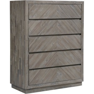 Herringbone Chest