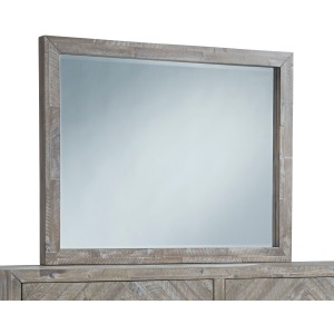 Herringbone Dresser Mirror