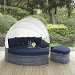 Summon Canopy Outdoor Patio Sunbrella® Daybed