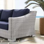 Conway Sunbrella® Outdoor Patio Wicker Rattan Sofa