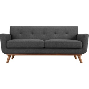 Engage Upholstered Fabric Loveseat