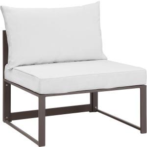 Fortuna Armless Outdoor Patio Chair