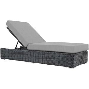 Summon Outdoor Patio Sunbrella Chaise Lounge