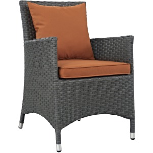 Sojourn Dining Outdoor Patio Sunbrella Armchair
