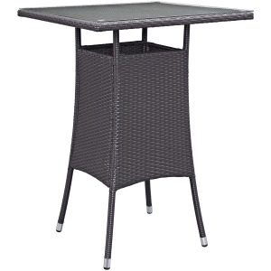 Convene Small Outdoor Patio Bar Table