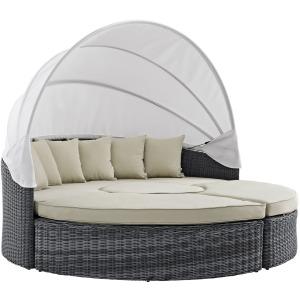 Summon Canopy Outdoor Patio Sunbrella Daybed