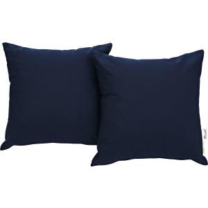 Summon 2 Piece Outdoor Patio Sunbrella Pillow Set