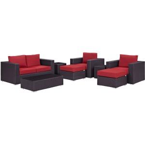 Convene 8 Piece Outdoor Patio Sofa Set