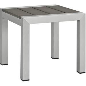 Shore Outdoor Patio Aluminum Side Table
