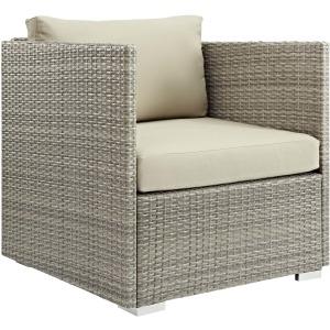 Repose Sunbrella Fabric Outdoor Patio Armchair