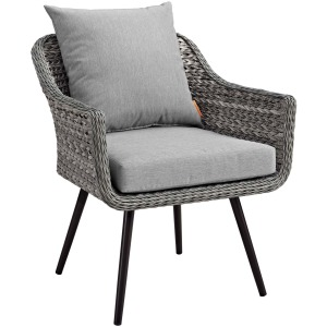 Endeavor Outdoor Patio Wicker Rattan Armchair
