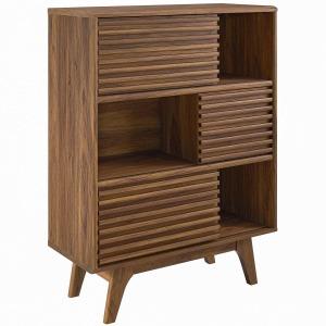Render Three-Tier Display Storage Cabinet Stand