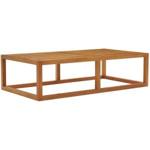 Newbury Outdoor Patio Premium Grade A Teak Wood Coffee Table