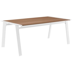 "Roanoke 73"" Outdoor Patio Aluminum Dining Table"