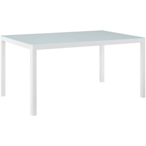 """Raleigh 59"""" Outdoor Patio Aluminum Dining Table"""
