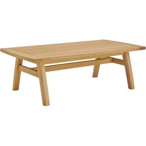 Orlean Outdoor Patio Eucalyptus Wood Coffee Table