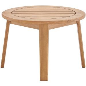 Vero Ash Wood Outdoor Patio Side End Table