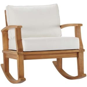 Marina Outdoor Patio Teak Rocking Chair