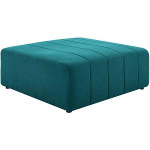 Bartlett Upholstered Fabric Ottoman