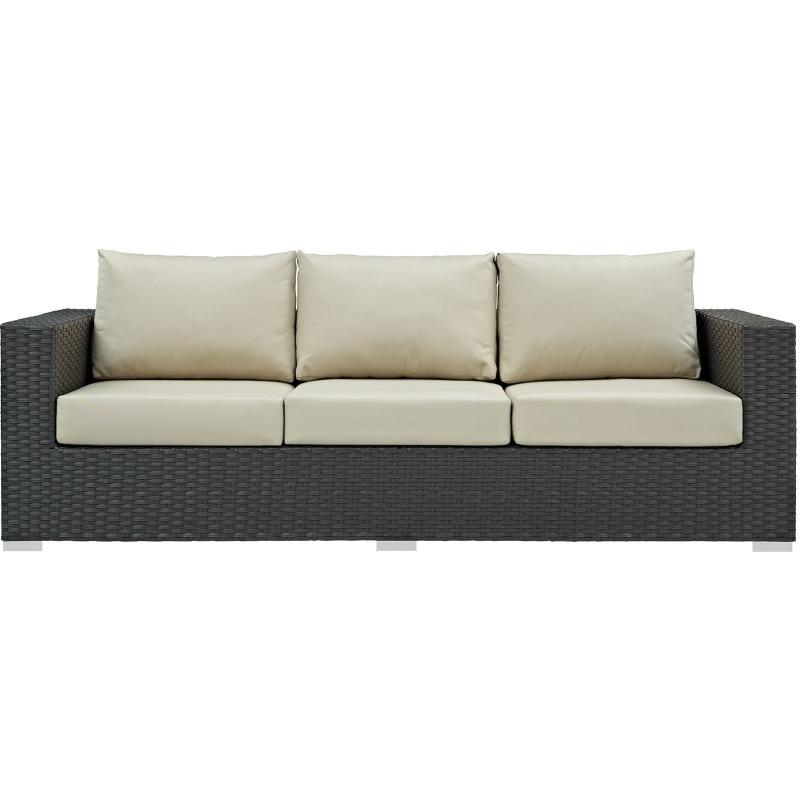 Sojourn Outdoor Patio Sunbrella® Sofa