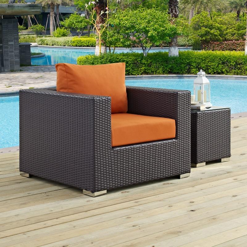 Convene Outdoor Patio Armchair