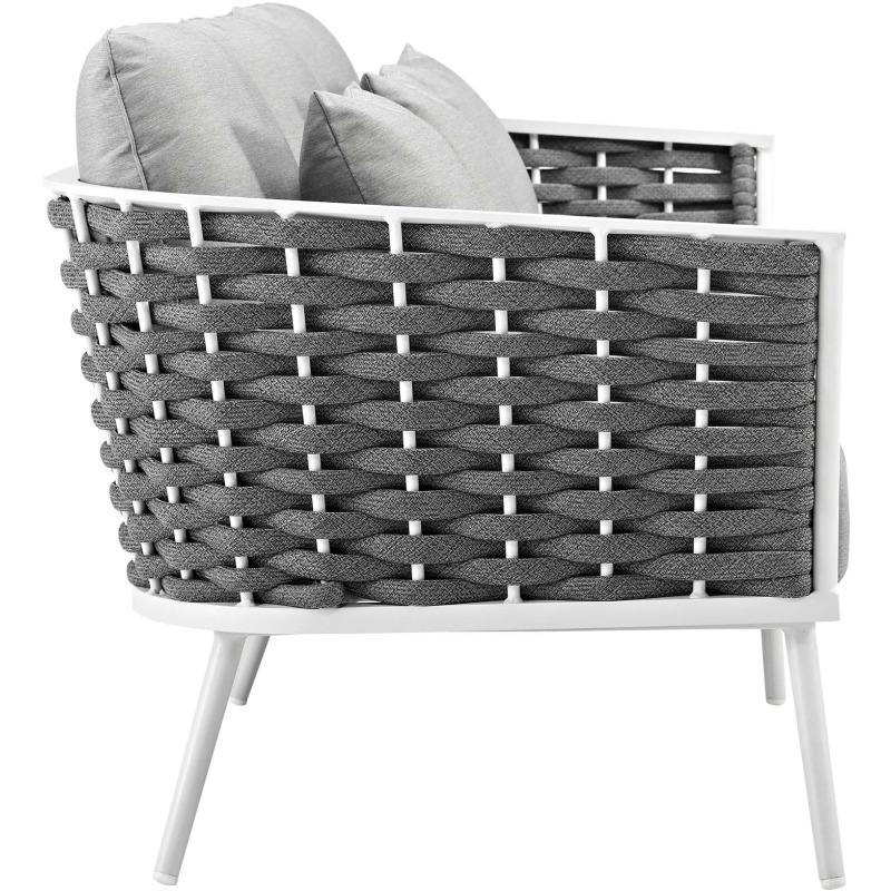 Stance Outdoor Patio Aluminum Sofa