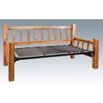 Homestead Day Bed - Stained and Lacquered